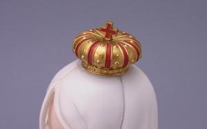 モルディナ王女「王冠用色移り防止シール」の使い方