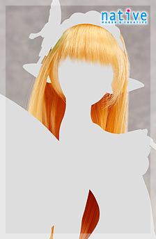 妖精女王 エレイン用ウィッグ